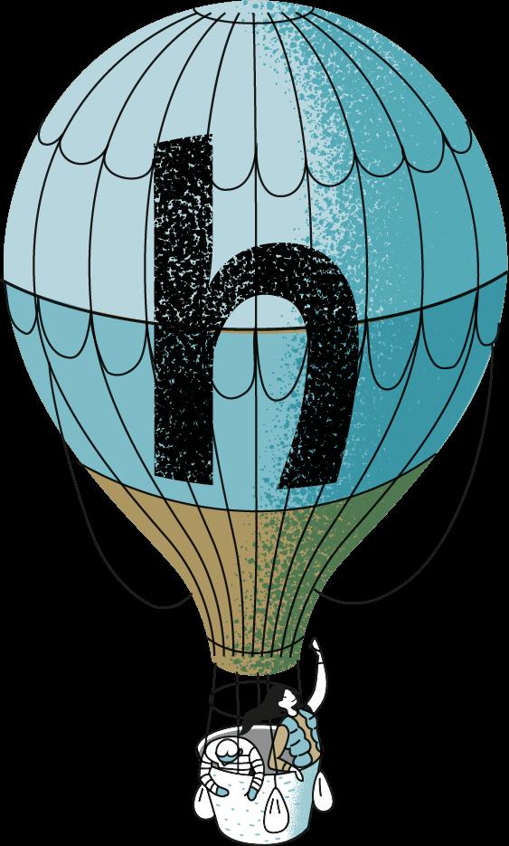 ballon halsten