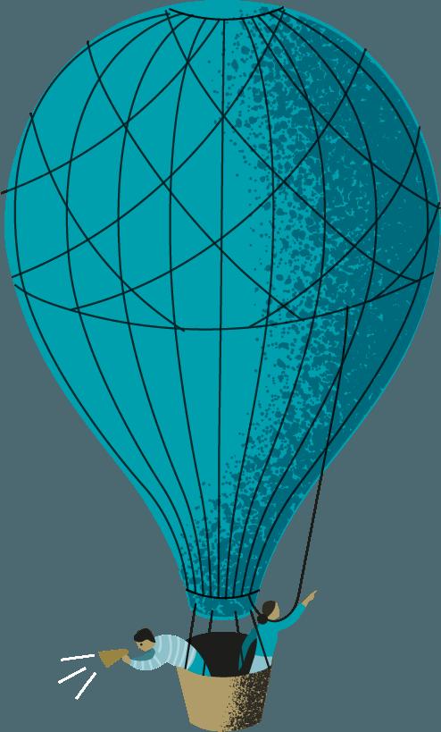 ballon onder